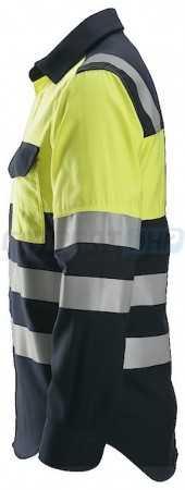 8560 ProtecWork, Chemise de soudeur manches longues haute visibilité, Classe 1