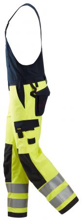 ProtecWork, Salopette à bretelles, haute visibilité, Classe 2