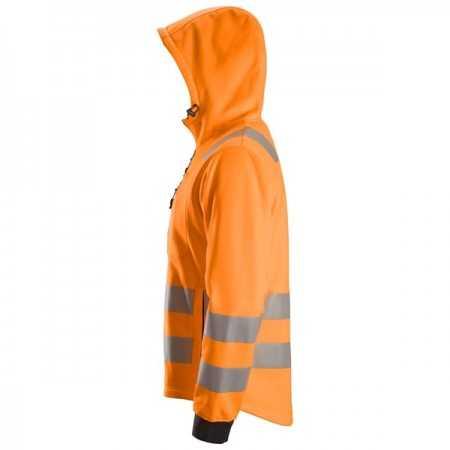 AllroundWork, Veste à capuche zippée, Classe 2/3