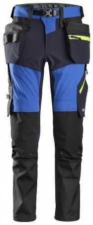 FlexiWork, Pantalon+ en tissu extensible Softshell avec poches holster