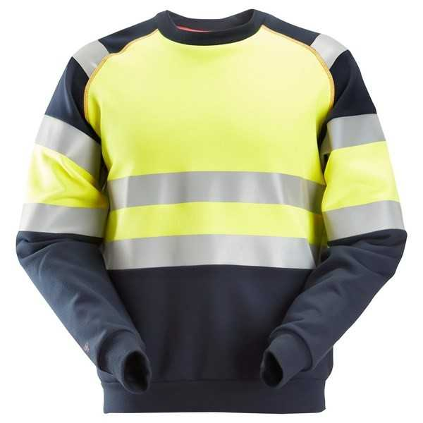 2869 ProtecWork, Sweat-shirt, haute visibilité, Classe 1