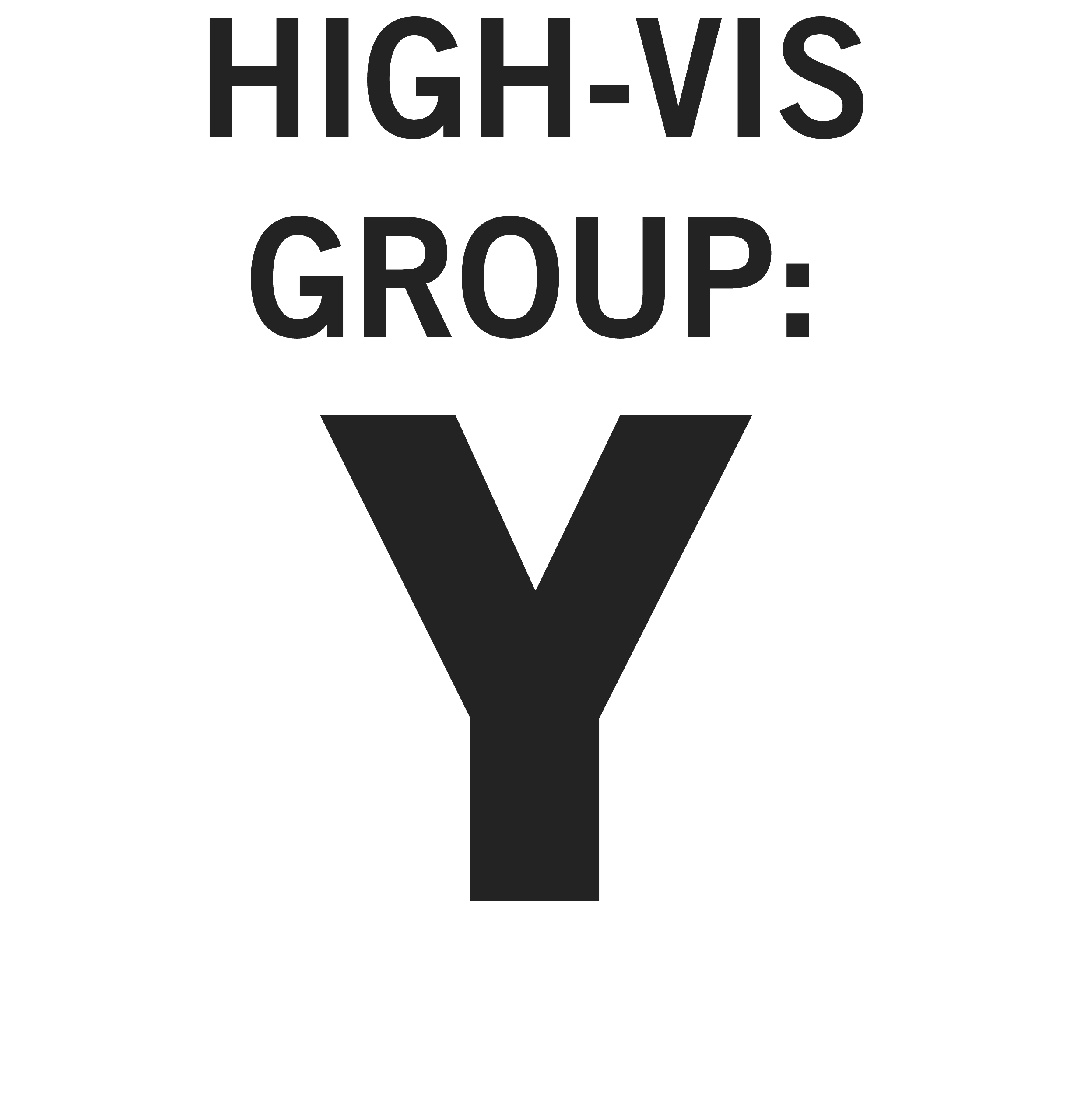 High-vis Group Y