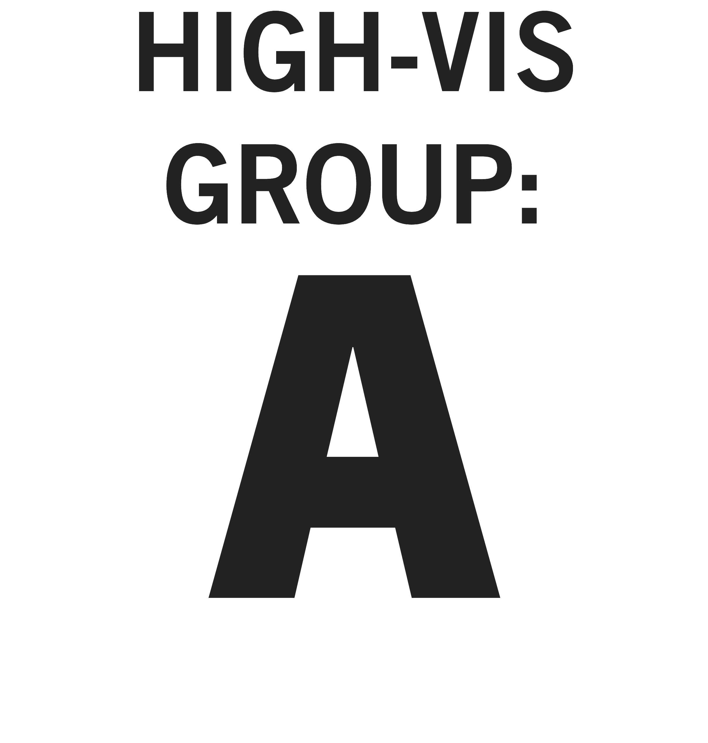 High-vis Group A